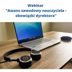 """Kurs online """"Awans zawodowy nauczyciela- obowiązki dyrektora"""""""