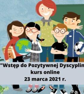 """Kurs online """"Wstęp do Pozytywnej Dyscypliny"""""""