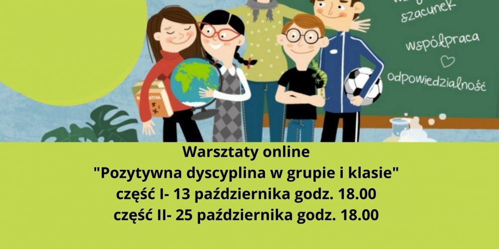 Warsztaty online Rola i zadania opiekuna stażu część I- 13 października godz. 18.00 część II- 25 października godz. 18.00